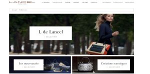 site internet Lancel
